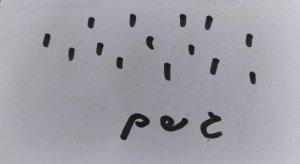כרטיסיית גשם